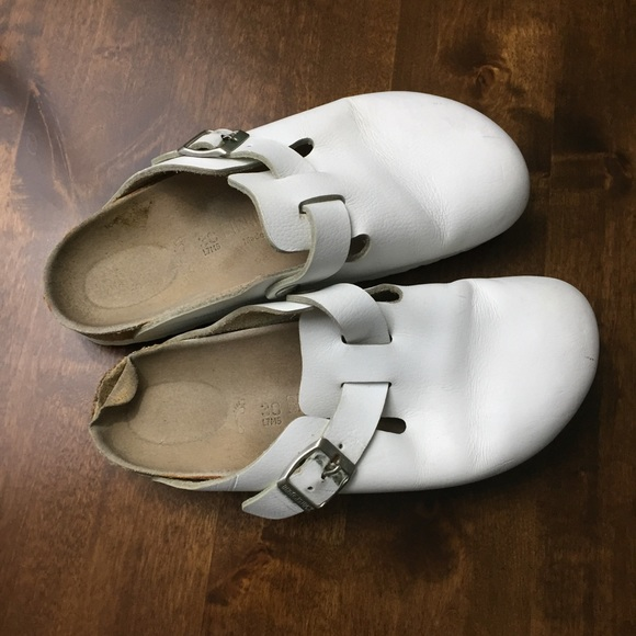 White Birkenstock Clogs | Poshmark