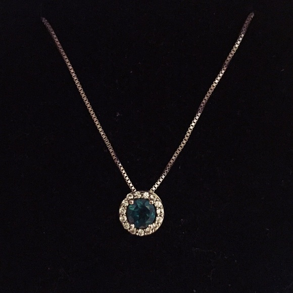 e4fc339f3 Kay Jewelers Jewelry - Kay Jewelers Emerald Sterling Silver Necklace