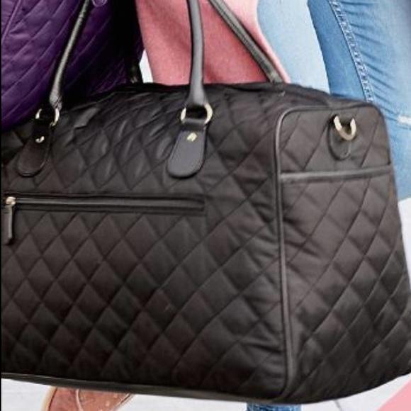 40% off Ulta Handbags - Quilted weekender bag, purple. NWT. from ... : quilted weekender bag - Adamdwight.com