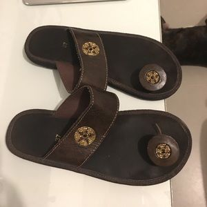 Shoes - Hand made real leather sandals from Guatemala