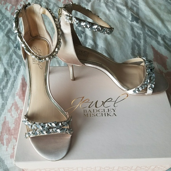 b77aa2af217c Badgley Mischka Shoes - Badgley Mischka Jewel Caroline Ankle Strap Sandals