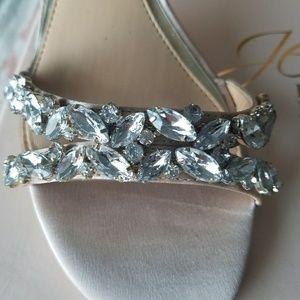 aa89bfd8ca034 Badgley Mischka Shoes - Badgley Mischka Jewel Caroline Ankle Strap Sandals