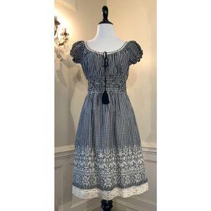 CHELSEA & VIOLET Peasant Dress