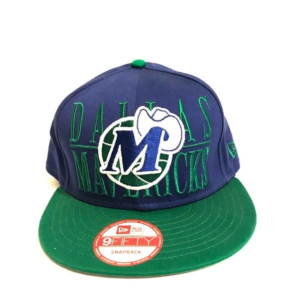 online store 4f065 ade92 Vintage Dallas Mavericks NBA Snapback, New Era