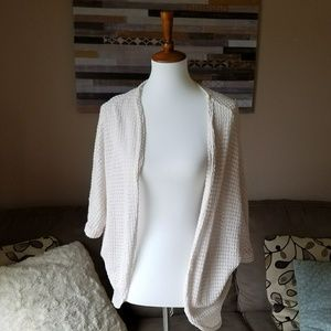 Rollacoster White Lace Cardigan