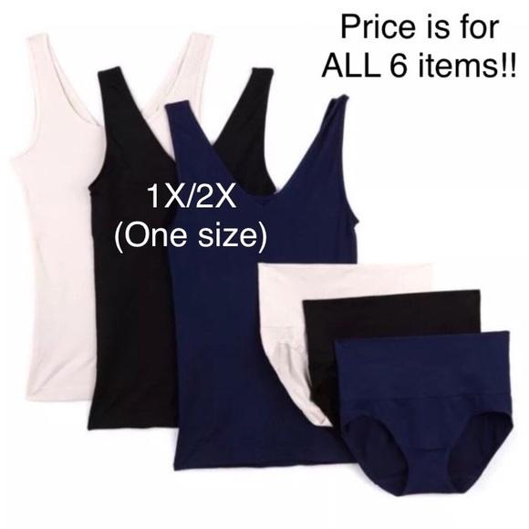 c862192eba Yummie 6 Piece Control Shapewear 💥1X 2X-one size