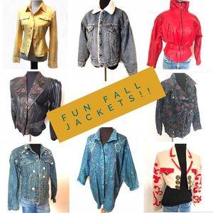 Fun Fall Jackets!!