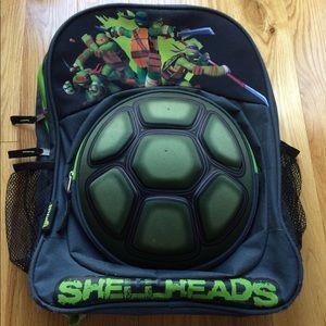 Other - Teenage Mutant Ninja Turtle Hardshell Backpack