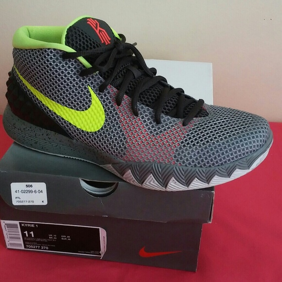 timeless design 37f86 00214 Nike Kyrie 1 LMTD -TMBLD Grey Night SLY Size 11