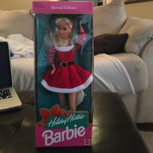 Other - Holiday Hostess Barbie 1992