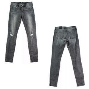 STS Blue Distressed Gray Jeans! NEW!