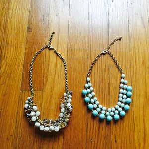 Bundle of Two Statement Necklaces