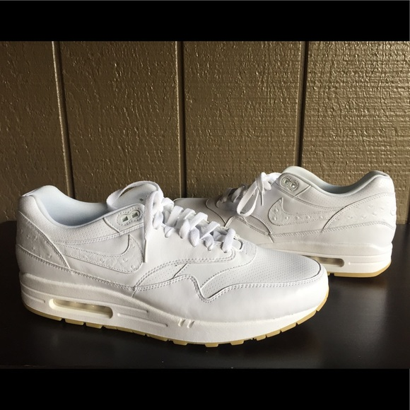 NIKE AIR MAX 1 LEATHER PA Ostrich Men's Sneakers NWT