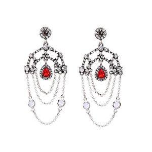 Lotus ROSITA chandelier earrings