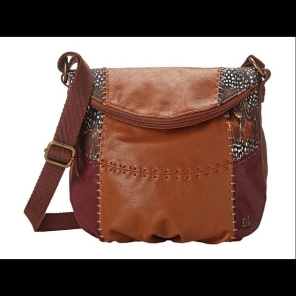 31df7c60642b The Sak Deena Flap Crossbody Bag