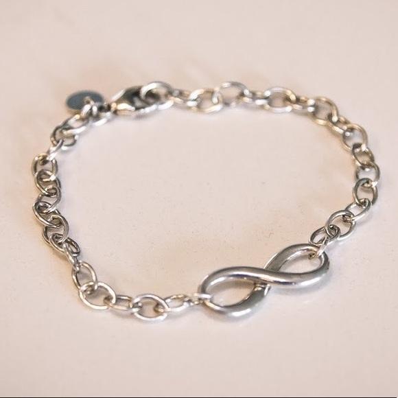 d8f5a784a128b Tiffany Infinity Bracelet - Sterling Silver