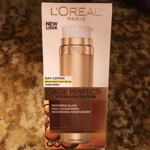 loreal Other - L'Oréal age perfect Hydra nutrition moisturizer