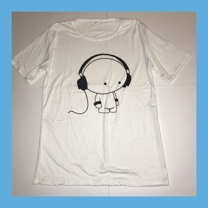 Other - 🎧 Headphone Cartoon T-shirt 🎧