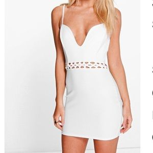 ✨HP✨ Boohoo Stacey strappy waist detail bodycon