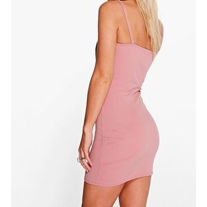 1dd8b4dc44e2 Boohoo Petite Dresses - ✨HP✨ Boohoo Stacey strappy waist detail bodycon