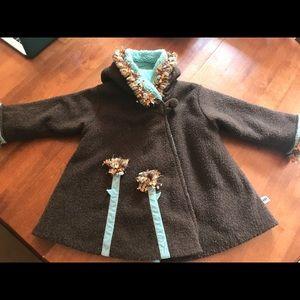 Jackets & Blazers - Corky girls swing coat