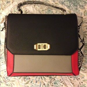 Handbags - NWT Multicolored Shoulder Handbag