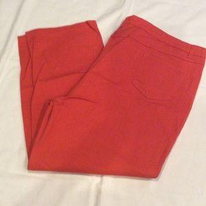 Denim - Orange denim jeans