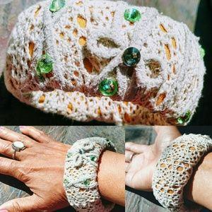 Handmade Fall inspired Bracelet