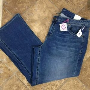 Lane Bryant Jeans Womens Genius Fit Stretch 24 R