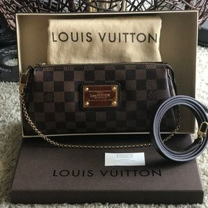 🚫SOLD🚫Authentic Louis Vuitton Eva Damier Ebene