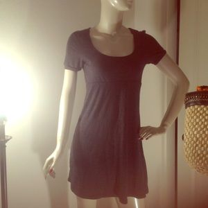 Dresses & Skirts - Petite simple grey jersey style material dress