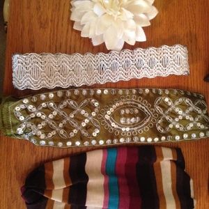 Accessories - Mixed lot of hair accessories headbands and clip