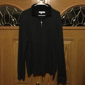 Calvin Klein zip-collar sweater