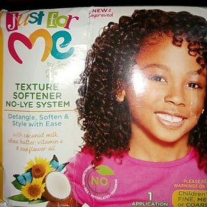 """New """"Just for Me"""" Texture Softener System"""