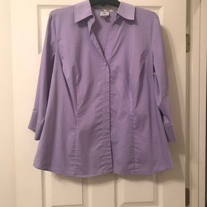 Worthington Woman Stretch Blouse