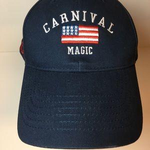 2018 Carnival Magic, OS Navy Baseball Hat/Cap, NWT