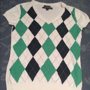 Tommy Hilfiger, Argyle shirt, size small NWOT