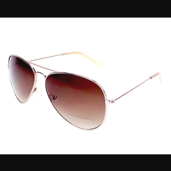 c0486b436f063 Michael Kors Rose Gold Aviator Sunglasses. M 599990d2b4188e68900acc80.  Other Accessories ...