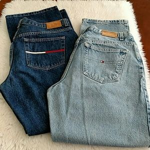 Dark wash Tommy Hilfiger jeans -1 pair