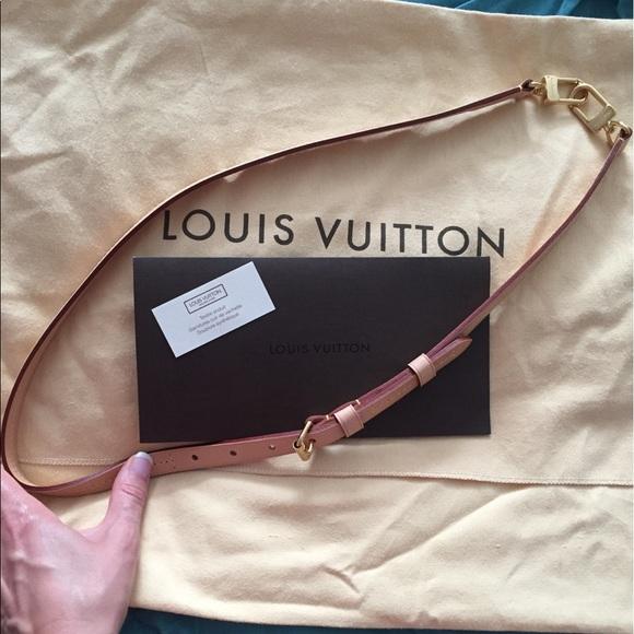 b3c8f2d00e Louis Vuitton Adjustable Shoulder Strap 16MM VVN Boutique