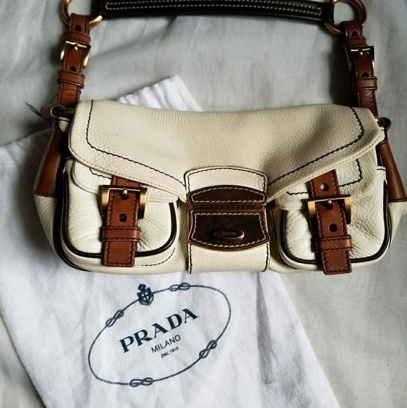 6509319ff9 ⭕FINAL PRICE⭕ Prada Mini Leather Handbag. M 59999aa76a5830ac600b37ee