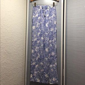 American Apparel Floral Print Pants