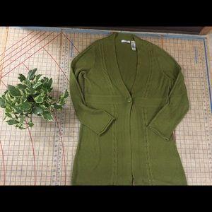 Lizwear long cardigan size XL