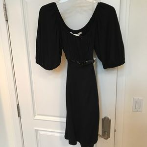 Black Mac Studio Dress with belted bust