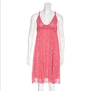 Diane von Furstenberg Silk Leaf Dress