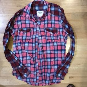Tops - Abercrombie and Fitch Flannel shirt