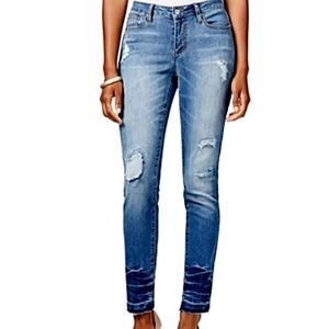 Earl Jeans Ripped Frayed Hem Denim! NEW!