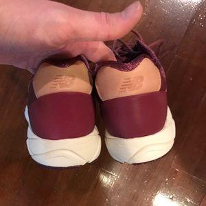 New Balance Shoes - Maroon new balance WRT96
