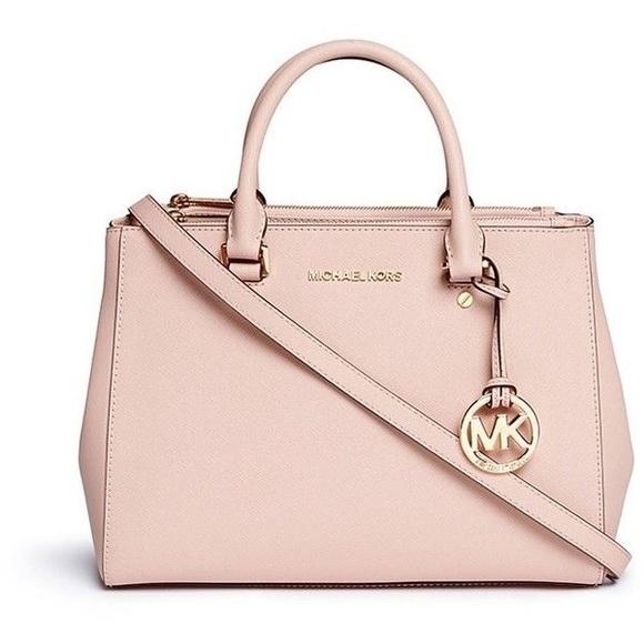 c09b5df7c440 Michael Kors Blush Pink Tote Bag. M_59d6cc4a56b2d63c12001c74