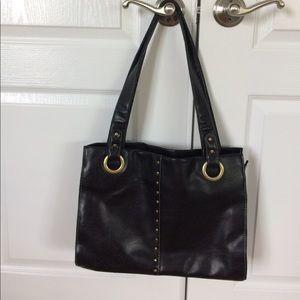 Handbags - Black vegan leather purse
